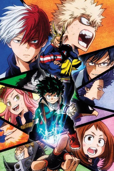 My Hero Academia Poster Pack Characters 61 x 91 cm (5)