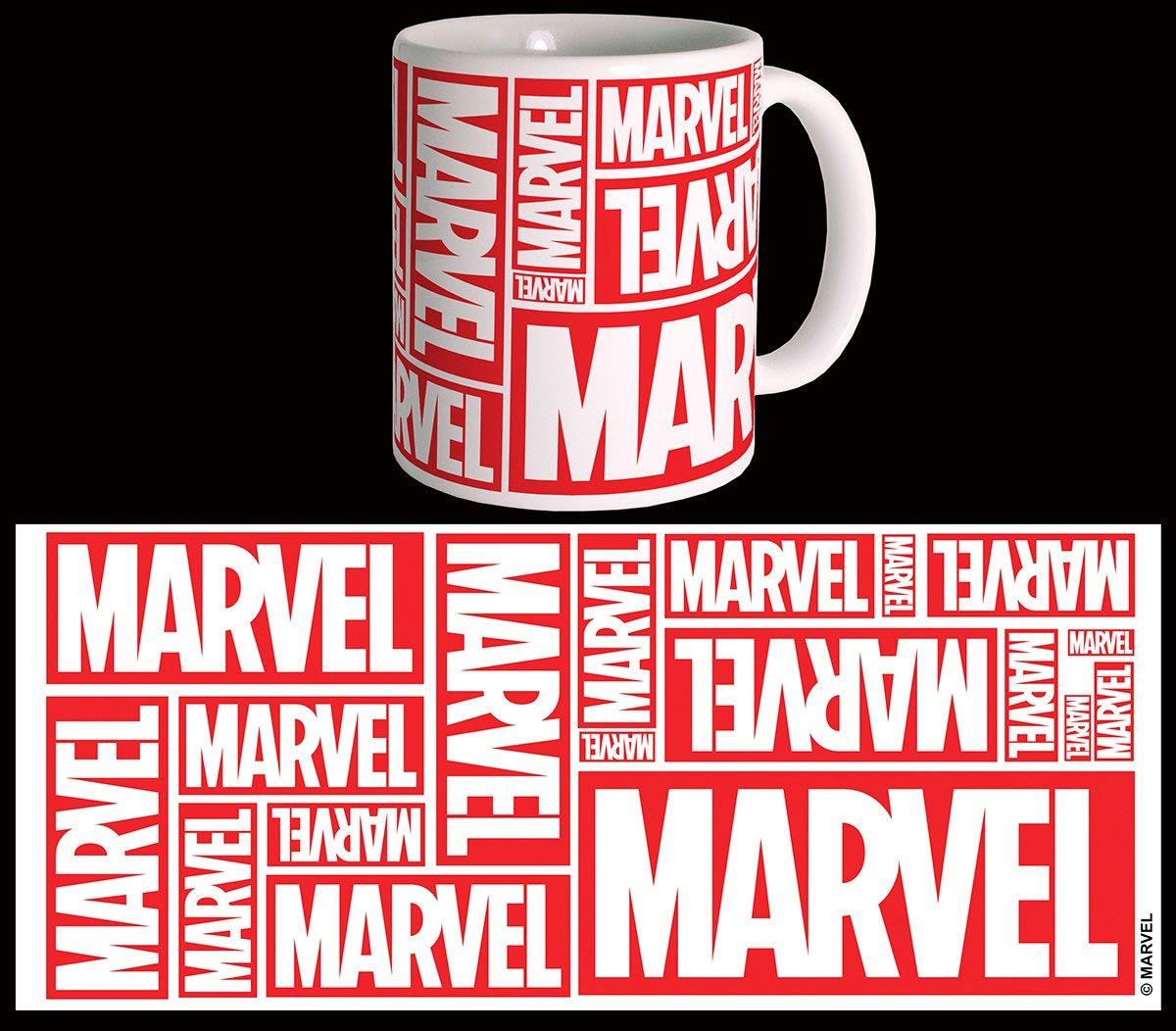 Marvel Comics Mug Multiple Logo