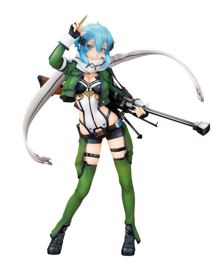 Sword Art Online The Movie -Ordinal Scale- PVC Statue 1/7 Sinon 25 cm