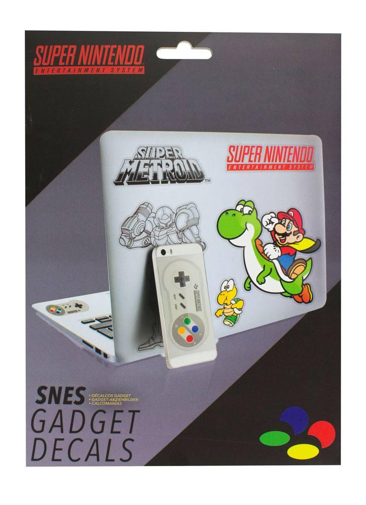 Super Nintendo Gadget Decals 17