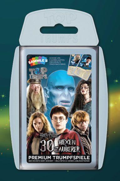 Harry Potter Card Game Top Trumps Die größten Hexen und Zauberer *German Version*