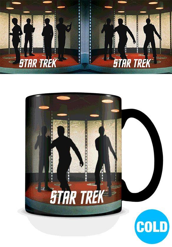 Star Trek Heat Change Mug Transporter