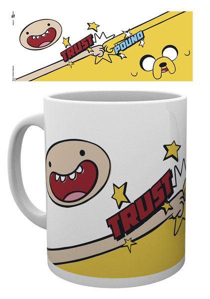 Adventure Time Mug Trust Pound