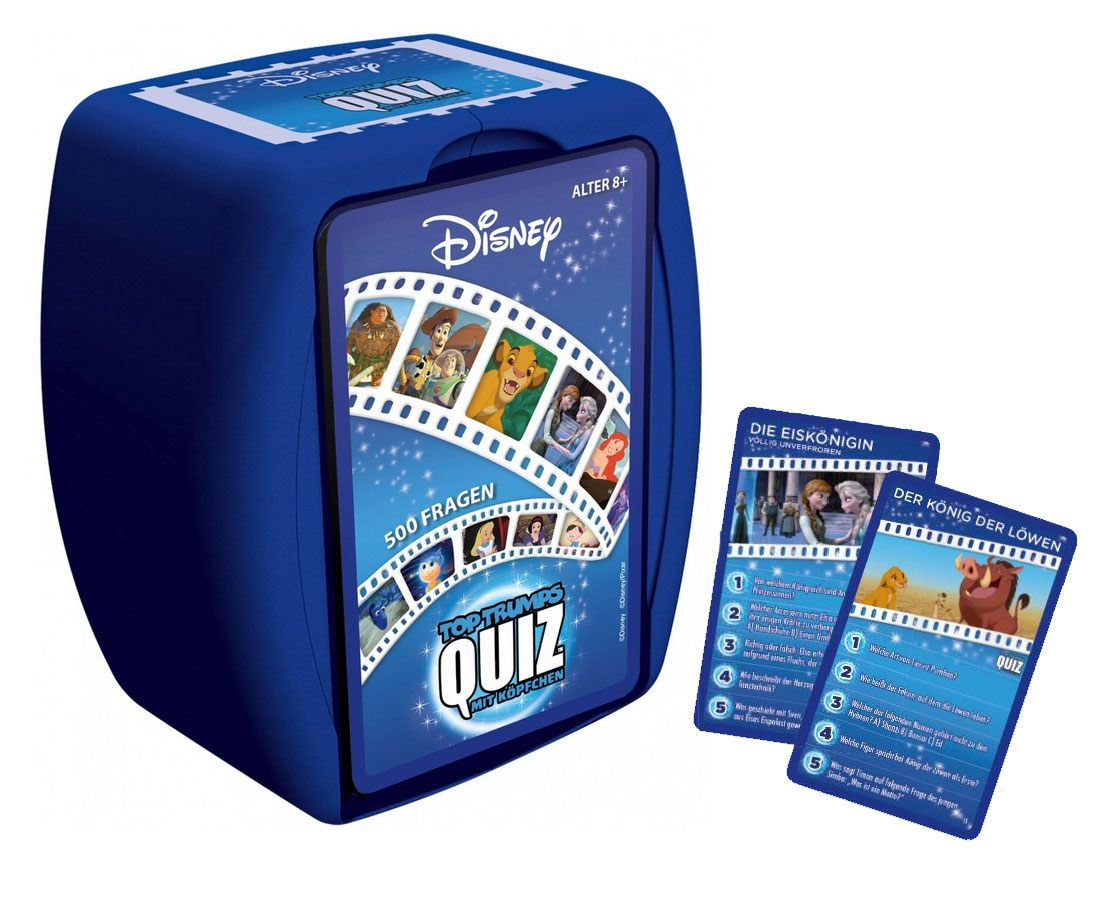 Disney Card Game Top Trumps Quiz *German Version*