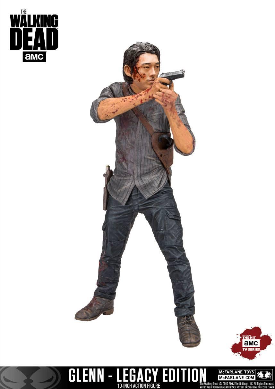 The Walking Dead TV Version Deluxe Action Figure Glenn Legacy Edition 25 cm