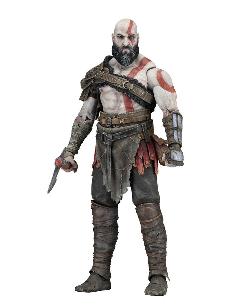 God of War 2018 Action Figure 1/4 Kratos 45 cm --- DAMAGED PACKAGING