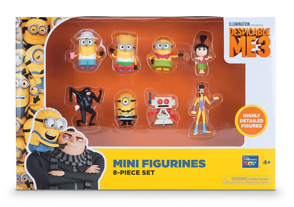 Despicable Me 3 Mini Figures 8-Pack 5 cm