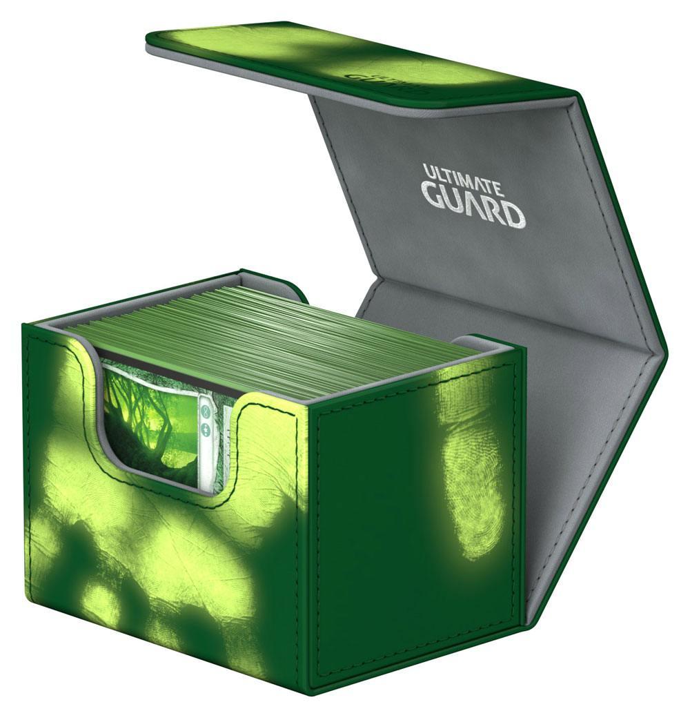Ultimate Guard SideWinder™ 100+ Standard Size ChromiaSkin™ Green