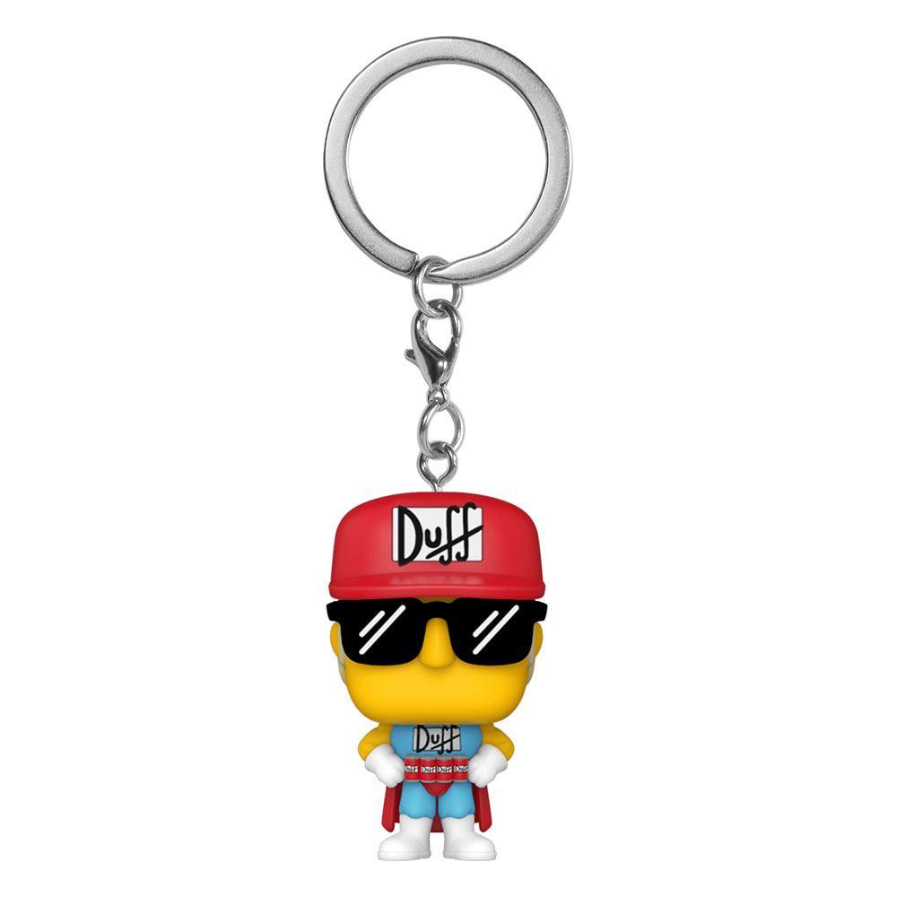 Simpsons Pocket POP! Vinyl Keychains 4 cm Duffman Display (12)