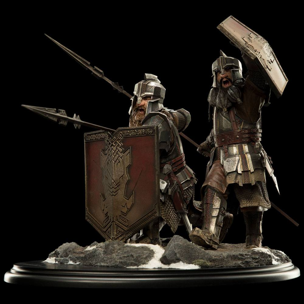 Hobbit The Battle of the Five Armies Statue 1/6 Dwarves of the Iron Hills 38 cm --- DAMAGED PACKAGING
