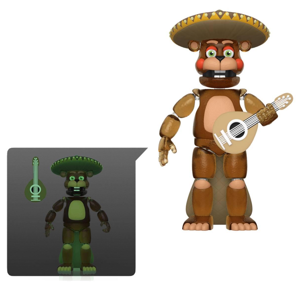 Five Nights at Freddy's Pizza Simulator Action Figure El Chip (Translucent) 13 cm