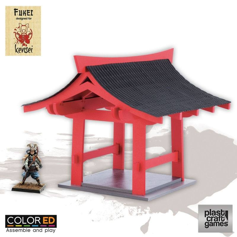 Kensei ColorED Miniature Gaming Model Kit 28 mm Pergola
