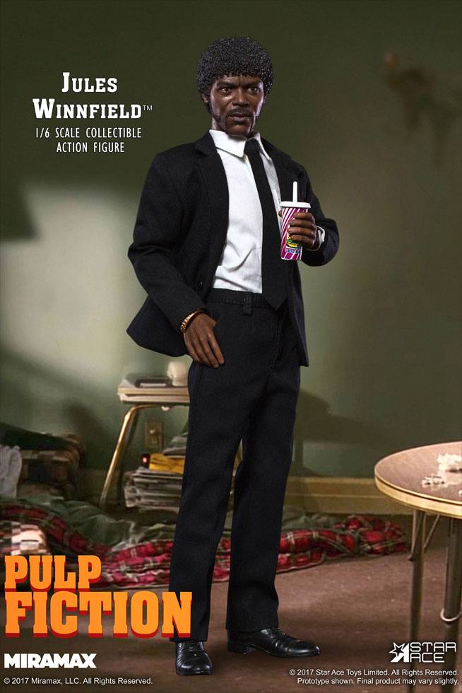 Pulp Fiction My Favourite Movie Action Figure 1/6 Jules Winnfield 30 cm