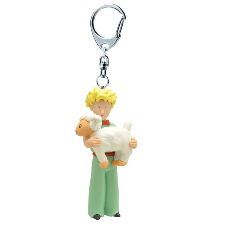 The Little Prince Keychain The Little Prince & The Sheep 13 cm