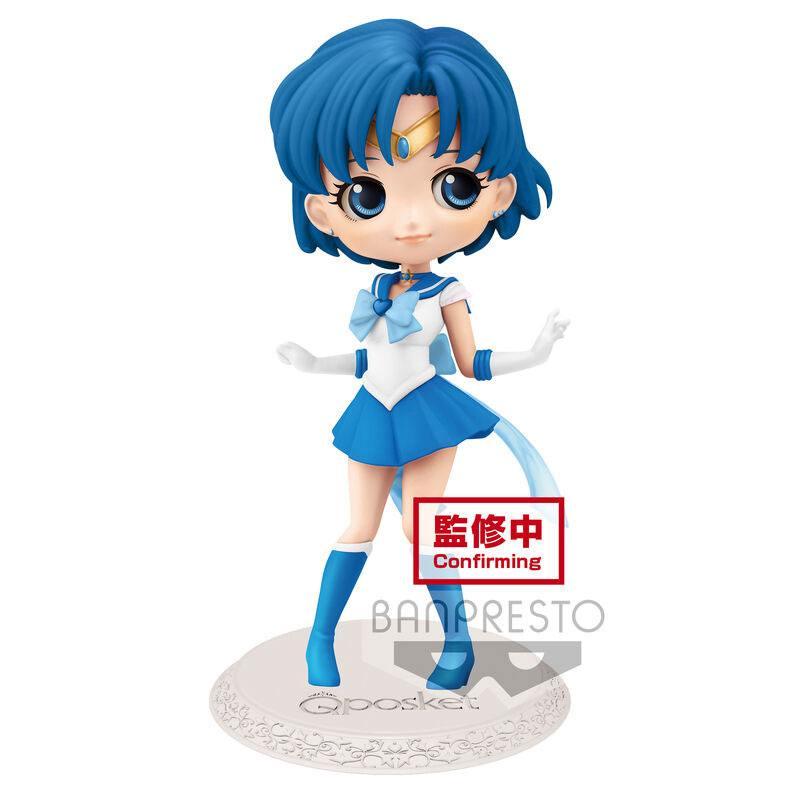 Sailor Moon Eternal The Movie Q Posket Mini Figure Sailor Mercury Ver. A 14 cm