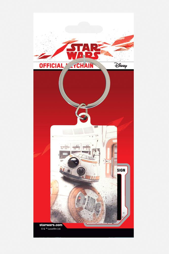 Star Wars Episode VIII Metal Keychain BB-8 Peek 6 cm