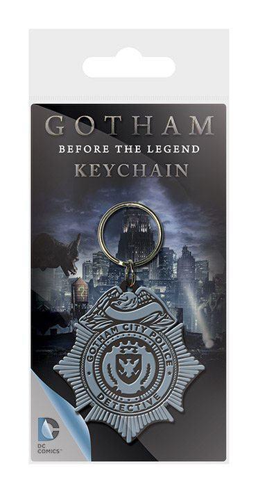 Gotham Rubber Keychain GCPD Badge 6 cm