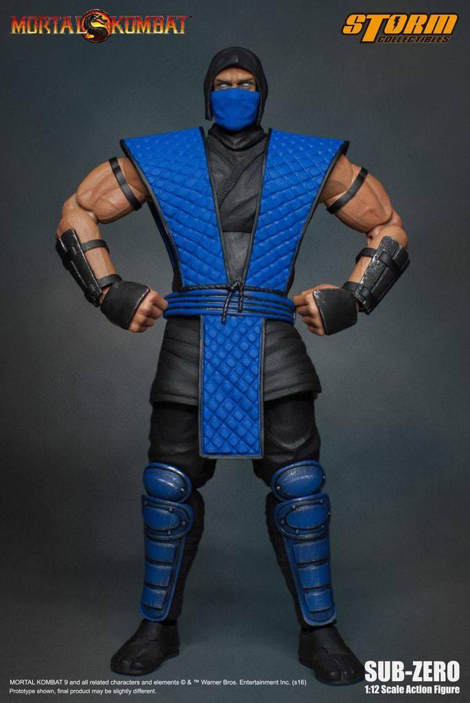 Mortal Kombat Klassic Action Figure 1/12 Sub-Zero 18 cm