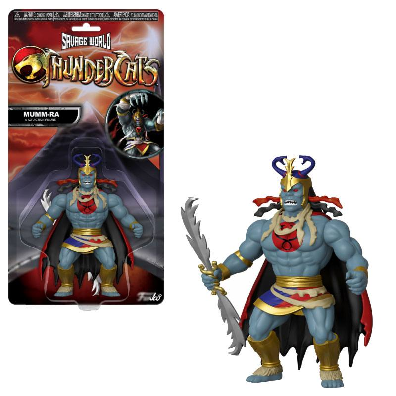 Thundercats Savage World Action Figure Mumm-Ra 10 cm
