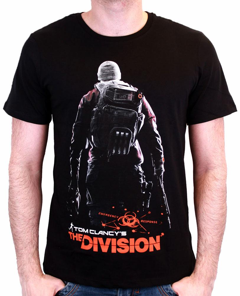The Division T-Shirt Back Black Size L
