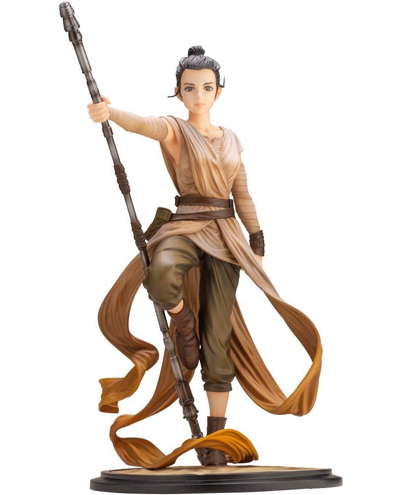 Star Wars Episode VII ARTFX PVC Statue 1/7 Rey Descendant of Light 27 cm