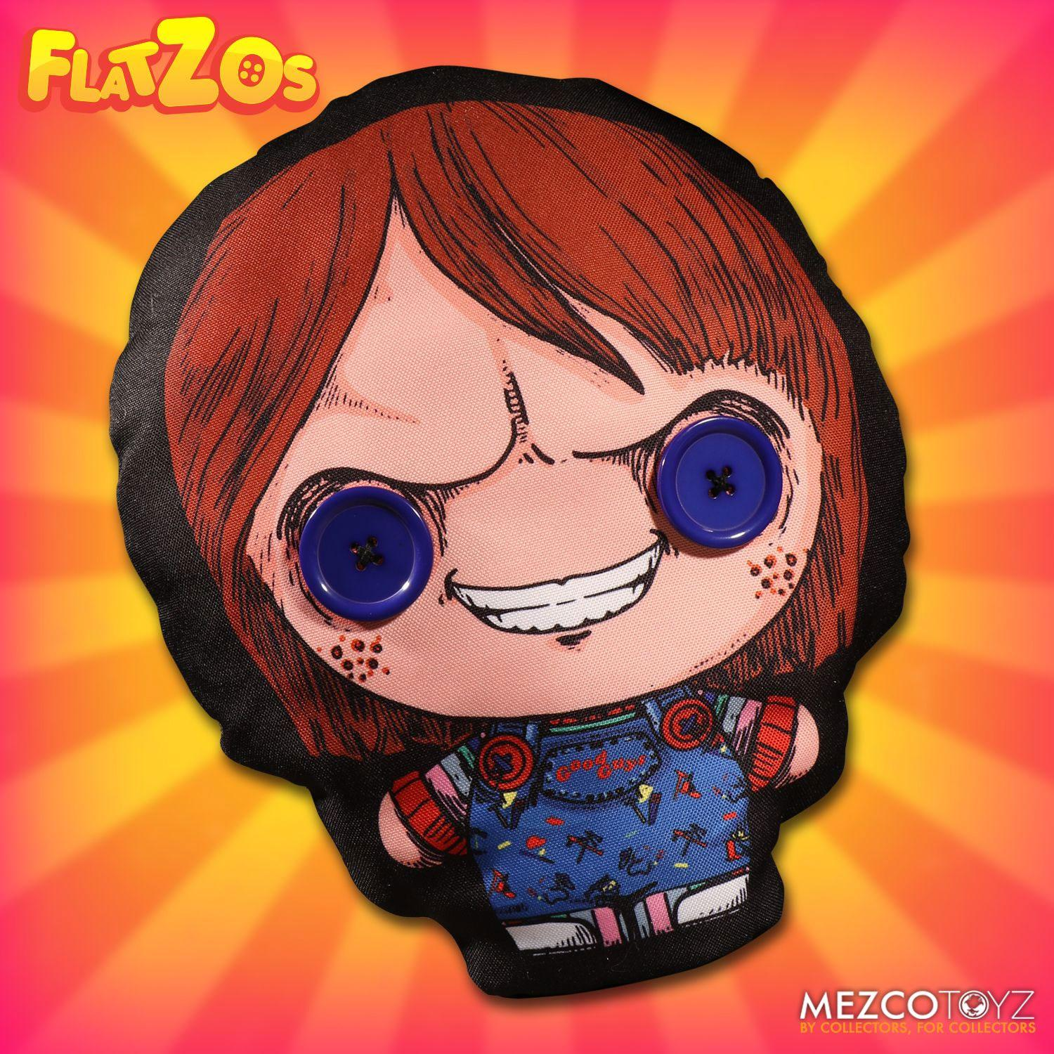Child´s Play Flatzos Plush Chucky 30 cm