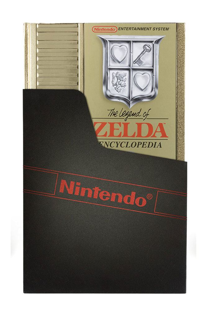 The Legend of Zelda Encyclopedia Deluxe Edition Hardcover --- DAMAGED PACKAGING
