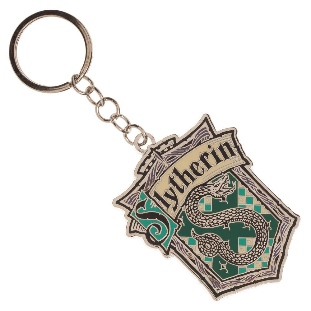 Harry Potter Metal Keychain Slytherin House