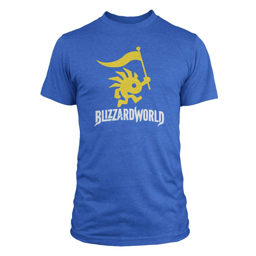 Overwatch T-Shirt Blizzardworld Logo Size S
