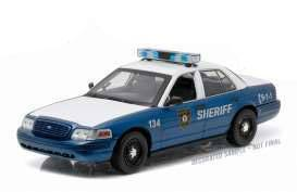 Walking Dead RC Car 1/18 2001 Ford Crown Victoria Police Interceptor