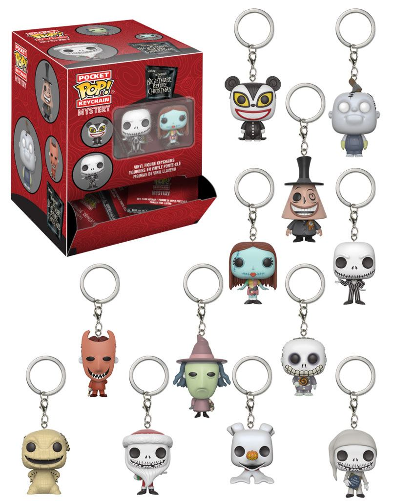 Nightmare Before Christmas Pocket POP! Vinyl Keychain 5 cm Display S1 (24)