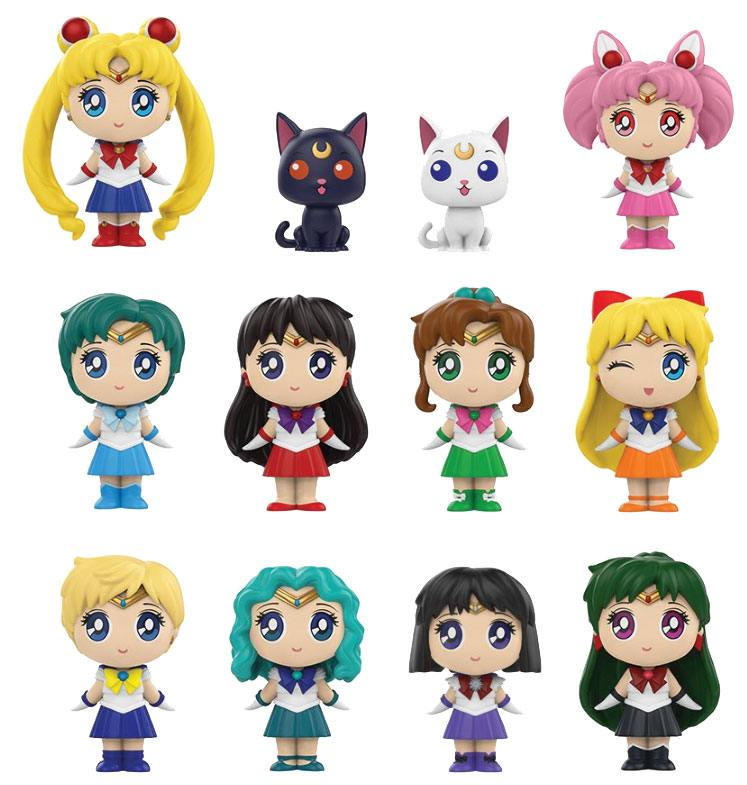 Sailor Moon Mystery Minis Vinyl Mini Figures 6 cm Display Classic (12)