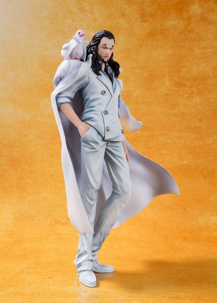 One Piece Film Gold FiguartsZERO PVC Statue Rob Lucci 16 cm