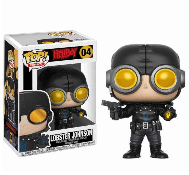 Hellboy POP! Movies Vinyl Figure Lobster Johnson 9 cm