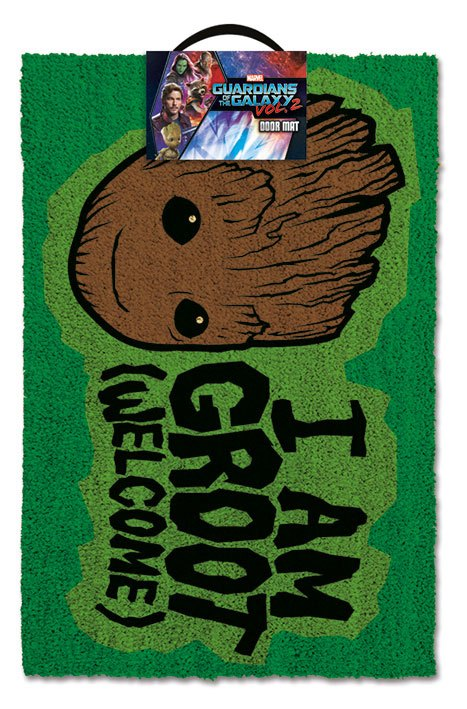 Guardians of the Galaxy Vol. 2 Doormat I AM GROOT - Welcome 40 x 57 cm
