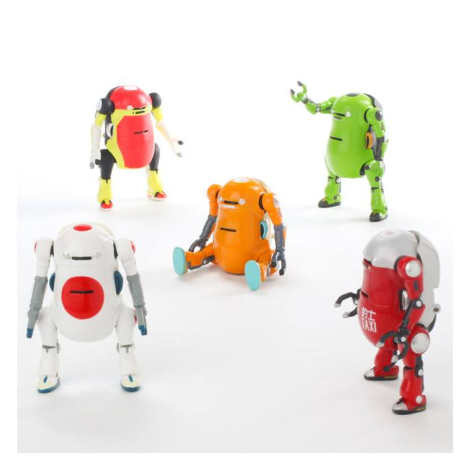 MechatroWeGo Mini Action-Figures 5 cm Assortment (10)