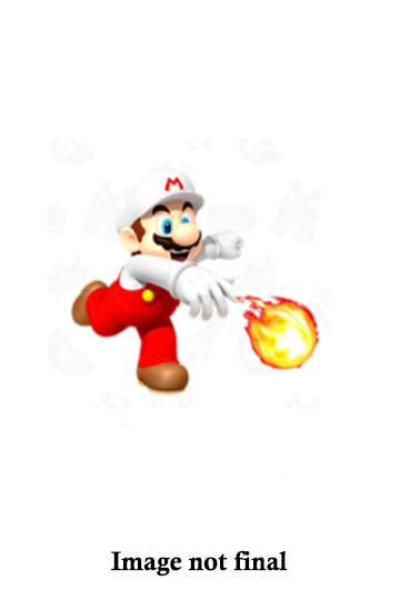 World of Nintendo Action Figure Wave 16 Fire Mario with Fire Ball 10 cm