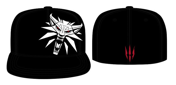 The Witcher Baseball Cap Side Logo