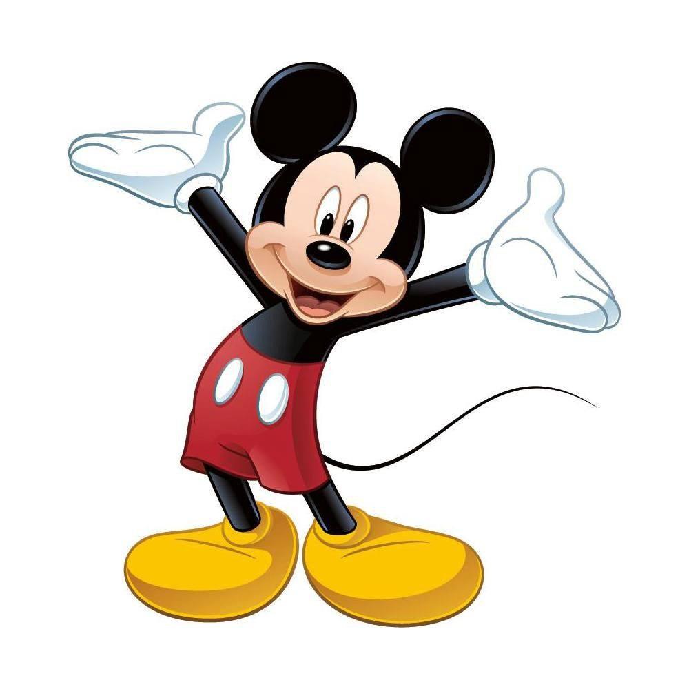 Disney Giant Vinyl Wall Decal Set Mickey Mouse