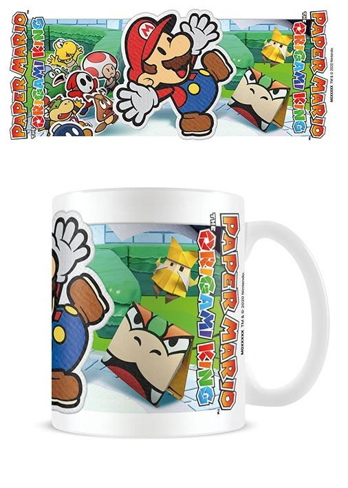 Paper Mario Mug Scenery Cut Out