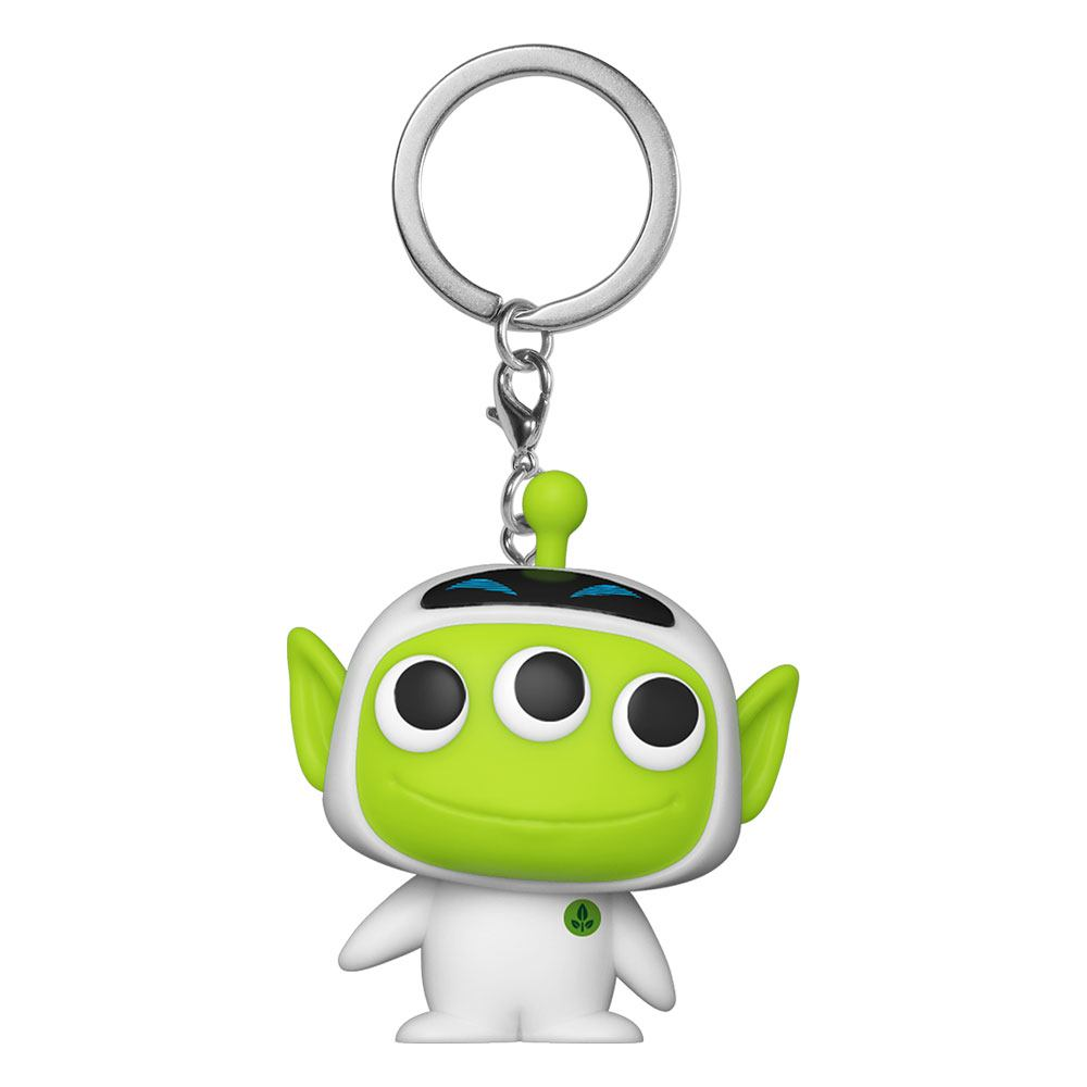 Pixar Pocket POP! Vinyl Keychains 4 cm Alien as Eve Display (12)