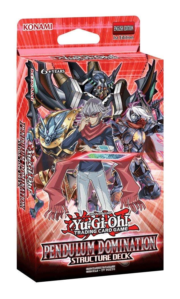 Yu-Gi-Oh! Structure Deck Pendulum Domination Display (8) *German Version*