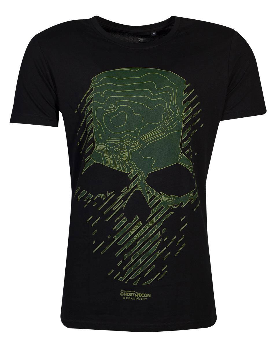 Ghost Recon T-Shirt Topo Skull Size L