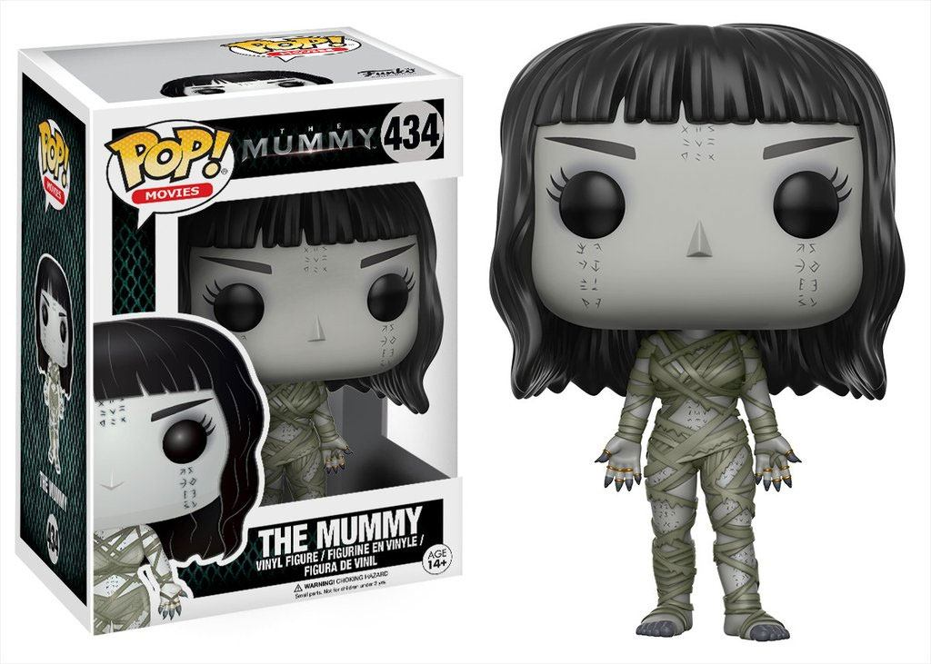 The Mummy (2017) POP! Movies Vinyl Figure The Mummy 9 cm