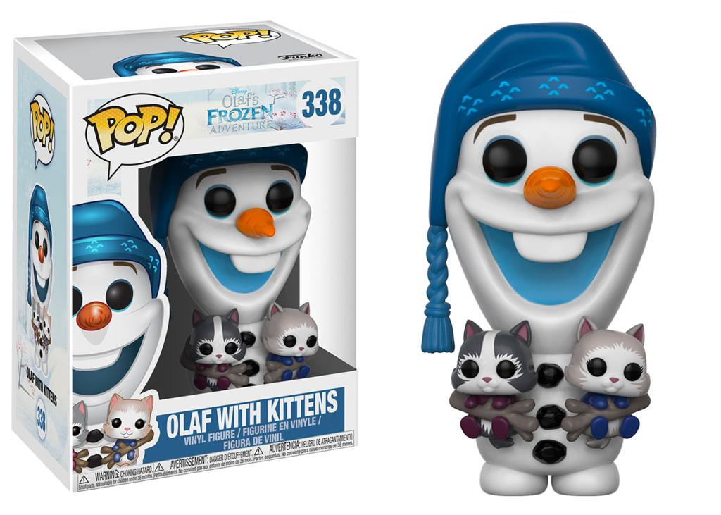 Frozen Olaf's Frozen Adventure POP! Disney Vinyl Figure Olaf 9 cm