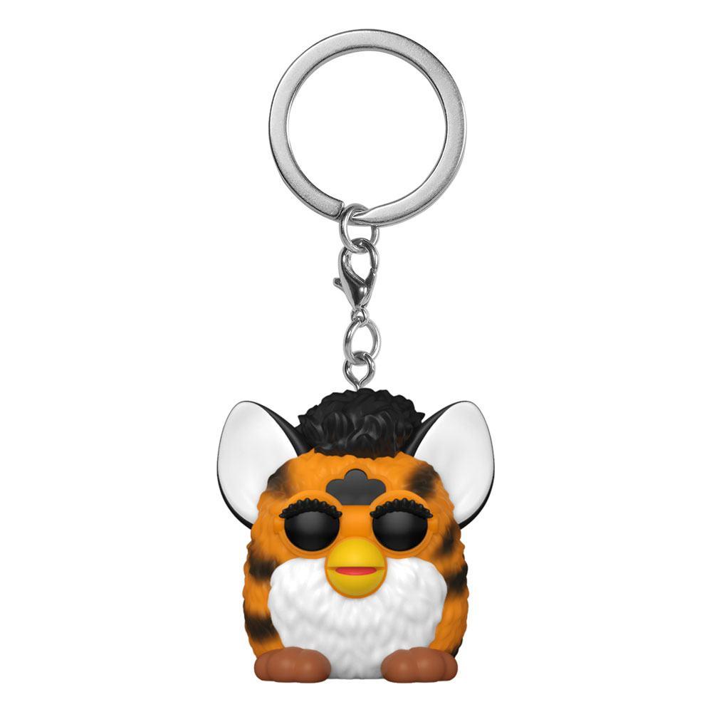 Furby Pocket POP! Vinyl Keychains 4 cm Tiger Furby Display (12)