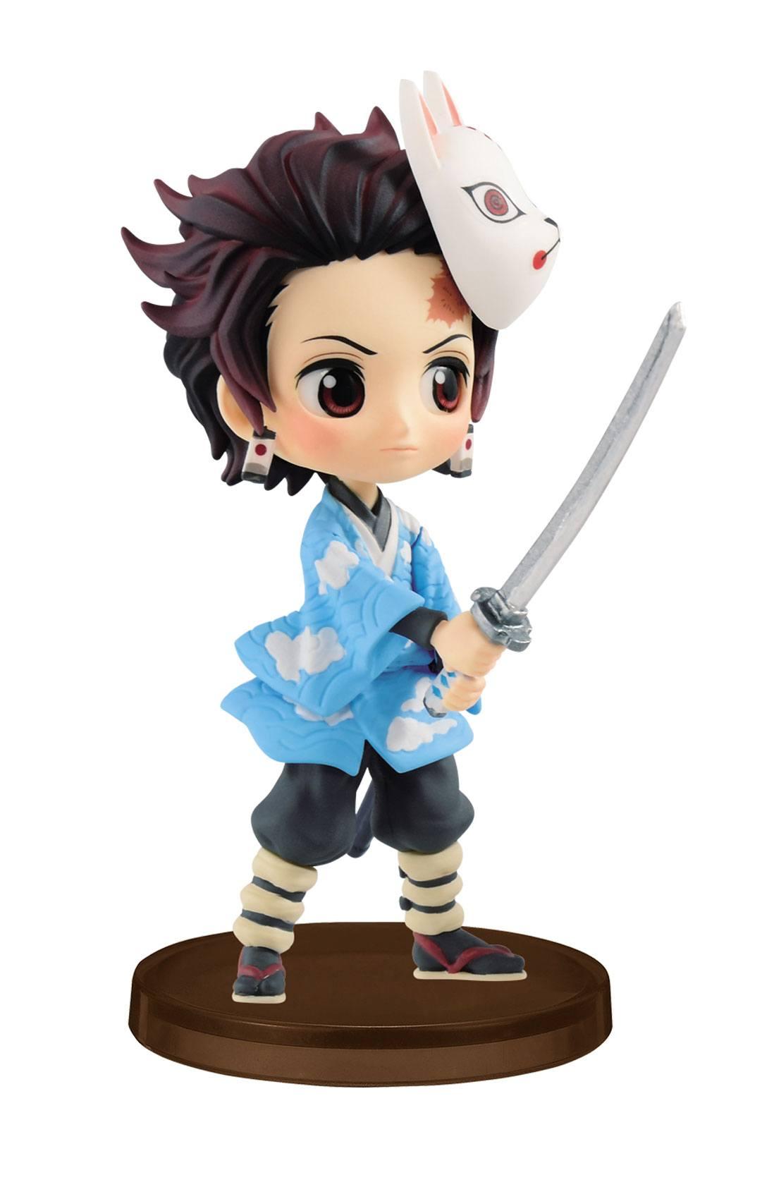 Demon Slayer Kimetsu no Yaiba Q Posket Petit Mini Figure Tanjiro Kamado 7 cm