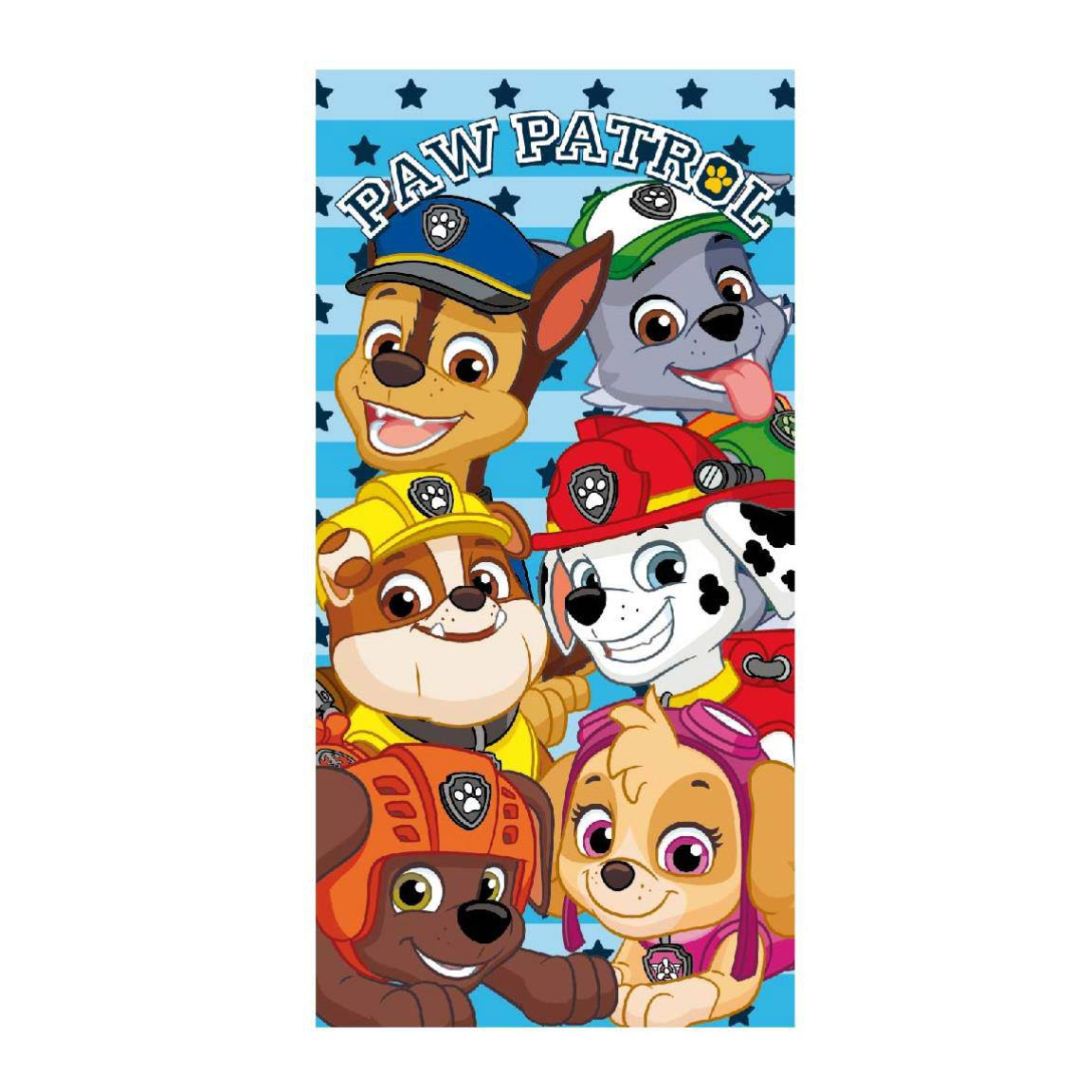 Paw Patrol Towel Characters 140 x 70 cm