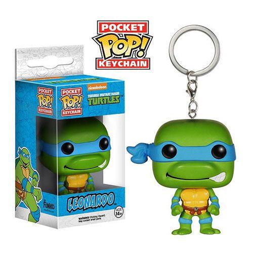 Teenage Mutant Ninja Turtles POP! Vinyl Keychain Leonardo 4 cm