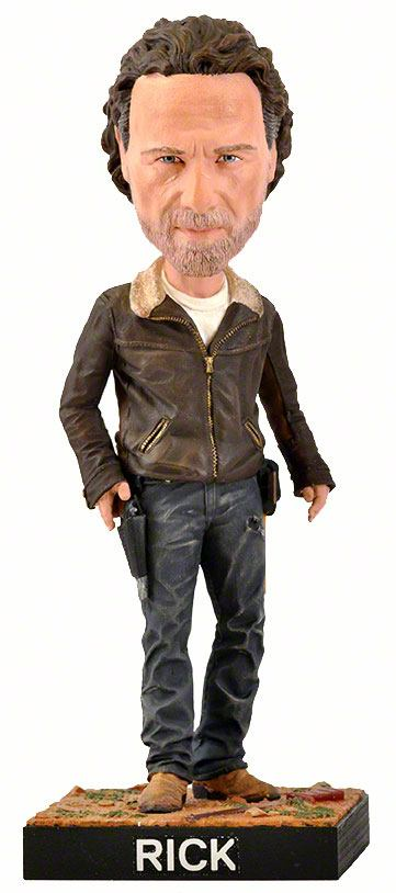 Walking Dead Bobble-Head Rick 20 cm